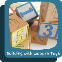 ~Building with Wooden Toys