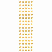 Gold Micro Stars Stickers