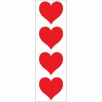 Red Heart Stickers