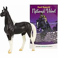 National Velvet Horse and Book set