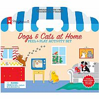 Dogs & Cats At Home Sticker Activity Book