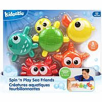 Spin N Play Sea Friends